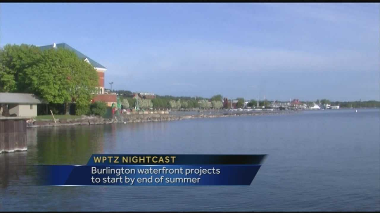 When will waterfront projects get off the ground?