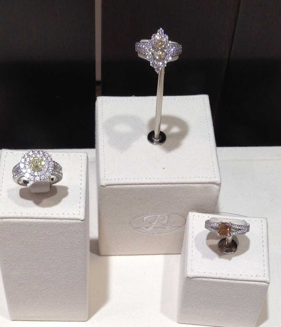 Or 30 of center-pictured engagement rings valued at $100,000 each.