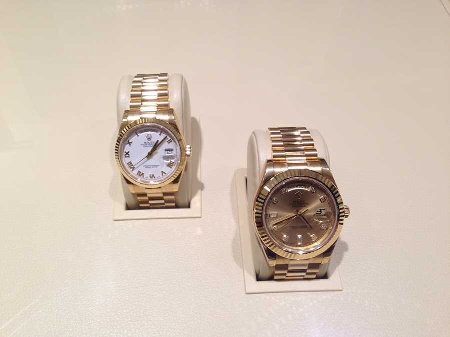 These gold Rolexes go for $40,000 each and for $3,000,000 you could get 7.5 of them.