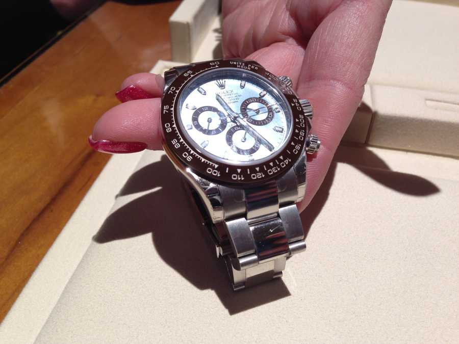 If you love platinum, you can get 40 of these Daytona Rolexes for $75,000 each.
