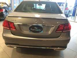 This 2014 Mercedes E350 4Matic sedan has a sticker price of over $62,000.