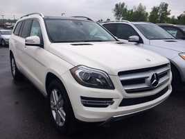 Need something a bit bigger than a sedan? That's okay…This 2014 GL450 4Matic SUV has a sticker price of $77,810, which means you can get 38 of them.