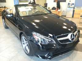 And for a bit of summer fun, you can fill your garage with 42 2014 E350 Mercedes Cabriolets.