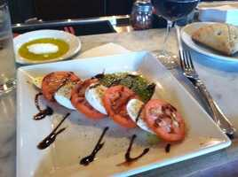 This is a Caprese salad I had recently at Chicago O'Hare airport. - George Mallet, anchor