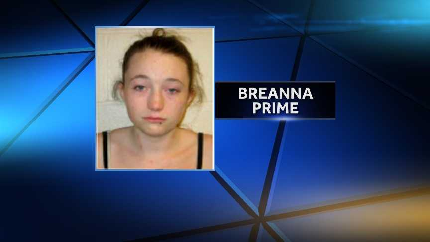Breanna Prime, 19 of White River Junction, was arrested by Lebanon City Police on June 3, 2014 for conspiracy to commit sale of controlled drug acts prohibited, heroin, and driving under the influence.