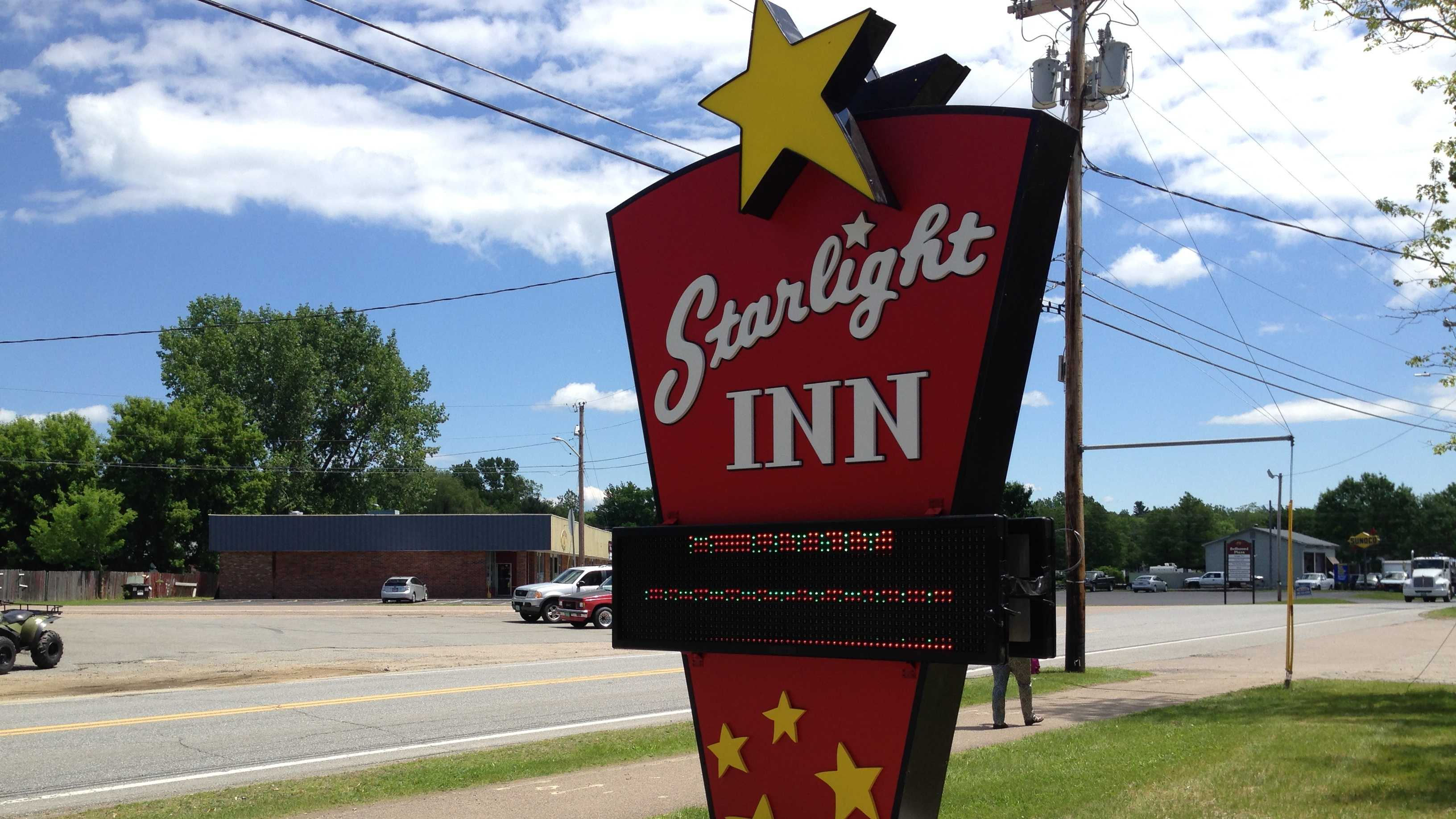 The Starlight Inn features rooms named after movie stars, but the owner says it is more than just a nostalgic gimmick.