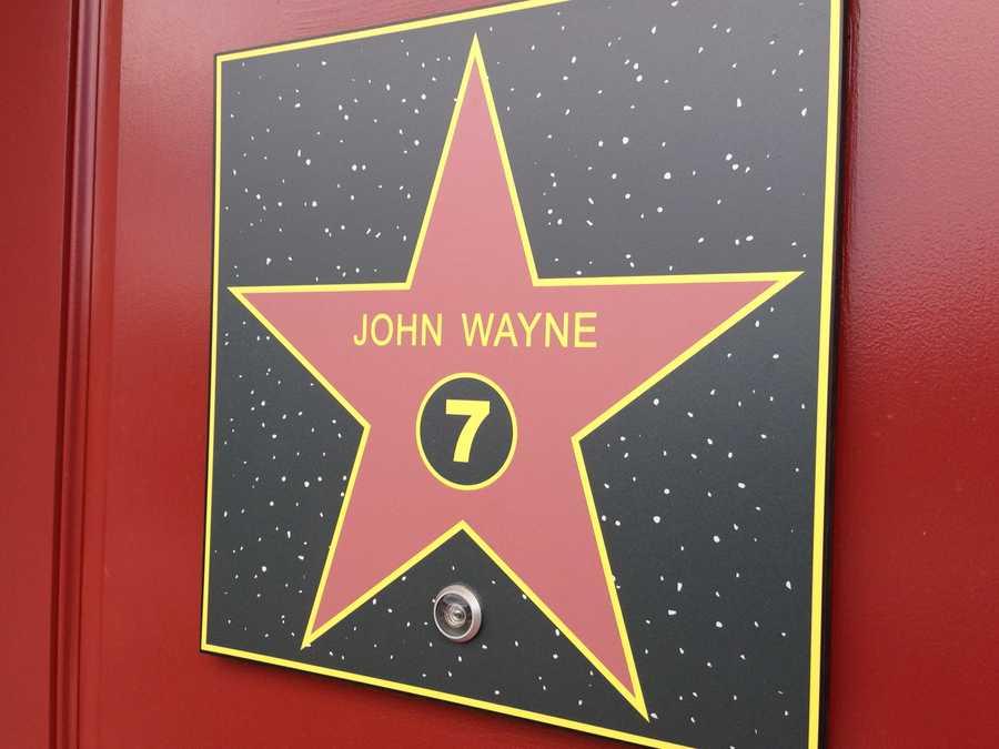 Enter the John Wayne room, pilgrim.