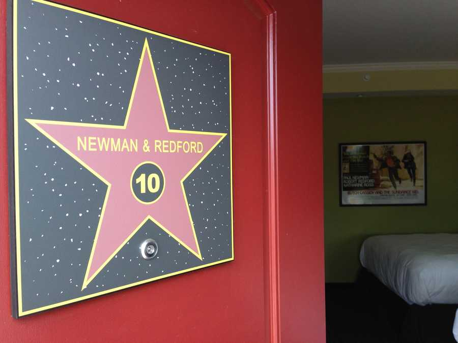 The Paul Newman and Robert Redford room.