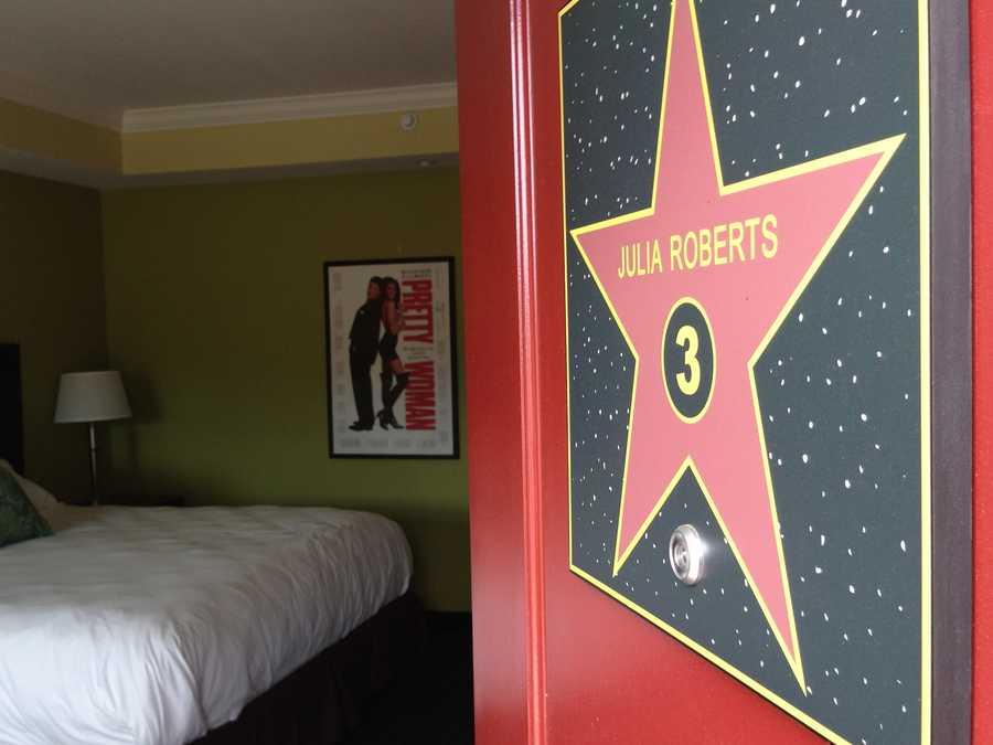 The Julia Roberts' room.