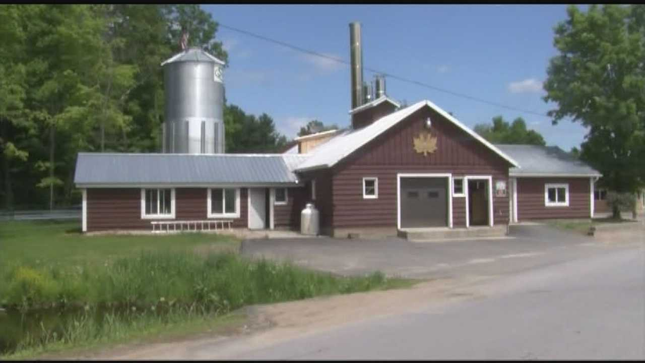 North Country sugar house featured in waged basket