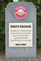 White Russian1986 – 1996Coffee Ice Cream with Kahlua Coffee Liqueur.