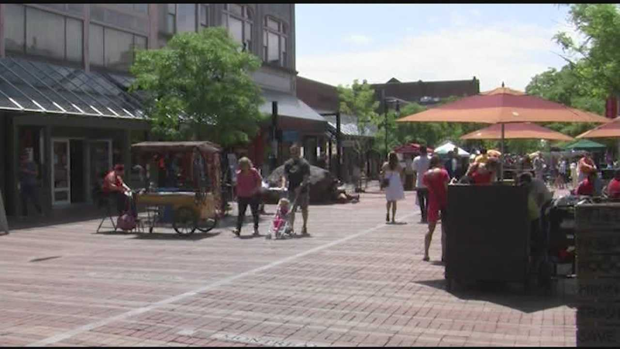 Church Street marketplace officials say a smoking ban is back on the table. On Monday, members of the Church Street District Marketplace Commission will present a proposal to ban cigarette smoking on the pedestrian mall from 9 a.m. to 9 p.m. daily.