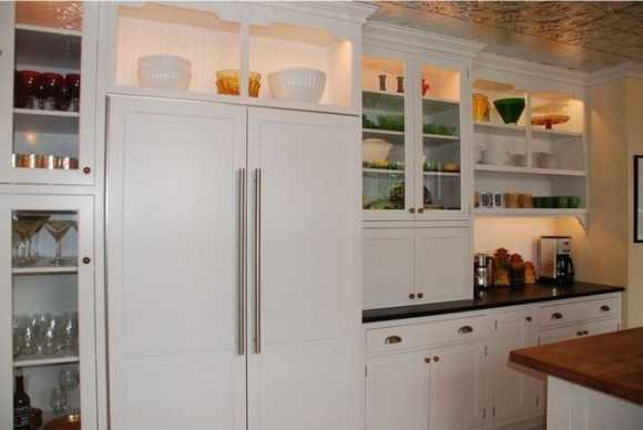 Custom cabinetry.