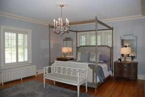 Romantic master suite.