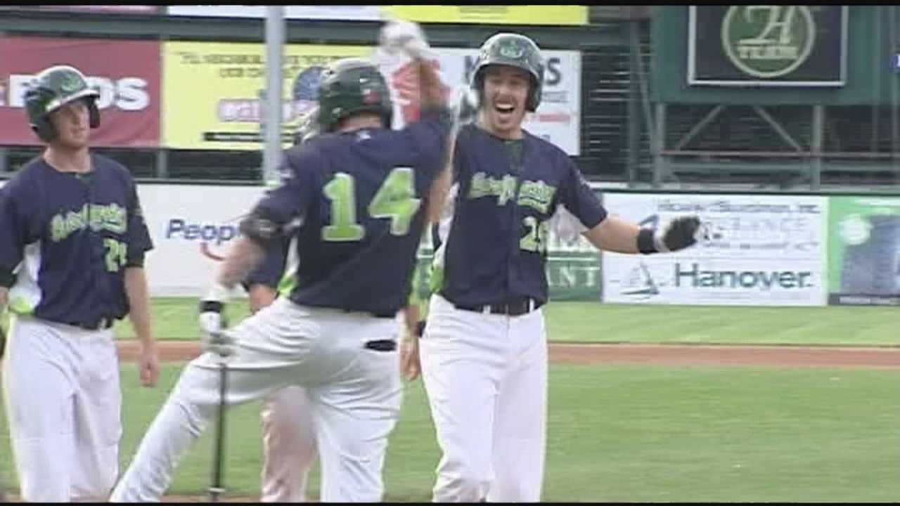 "Vermont Lake Monsters win 1st home game in ""grand"" fashion."