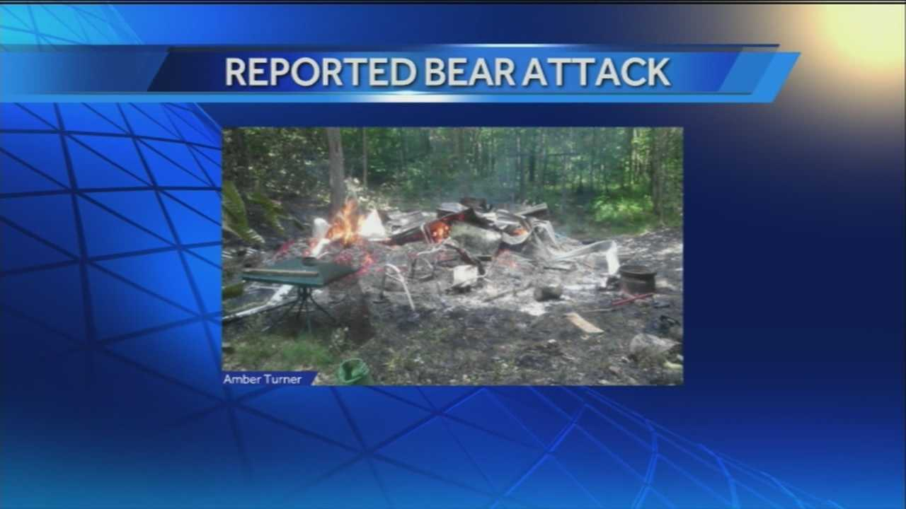 A couple was reportedly attacked Wednesday afternoon by a bear and cubs.