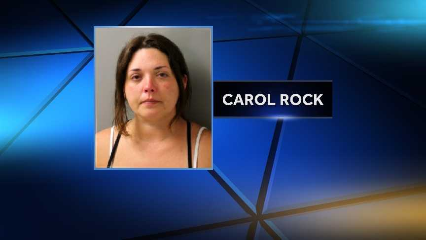 Carol Rock was charged with DUI #2 and four counts of child endangerment. Vermont Staet Police say she driving drunk with her four kids in the vehicle.