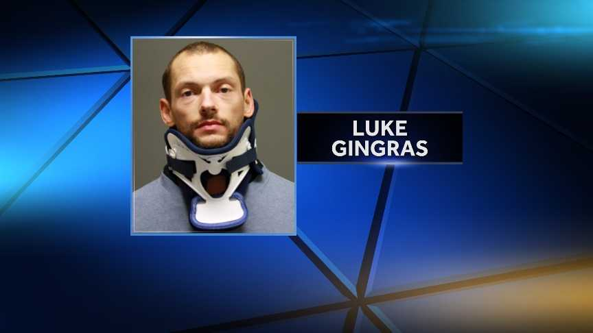 Milton police say 28-year-old Luke Gingras, of Milton, was arrested Tuesday on attempted murder, domestic assault, reckless endangerment, and arson relating to last week's bear attack hoax in Milton, Vt.