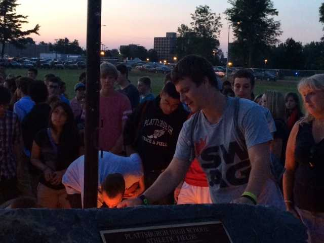 Lighting candles for friends lost too soon.