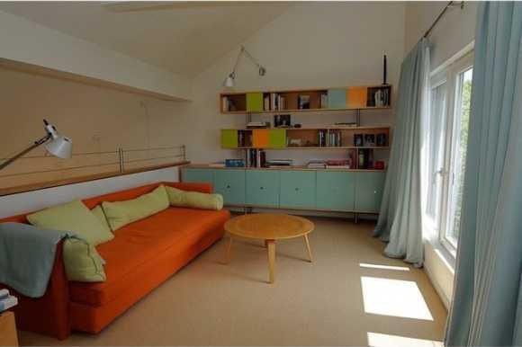 Study-lounge space.