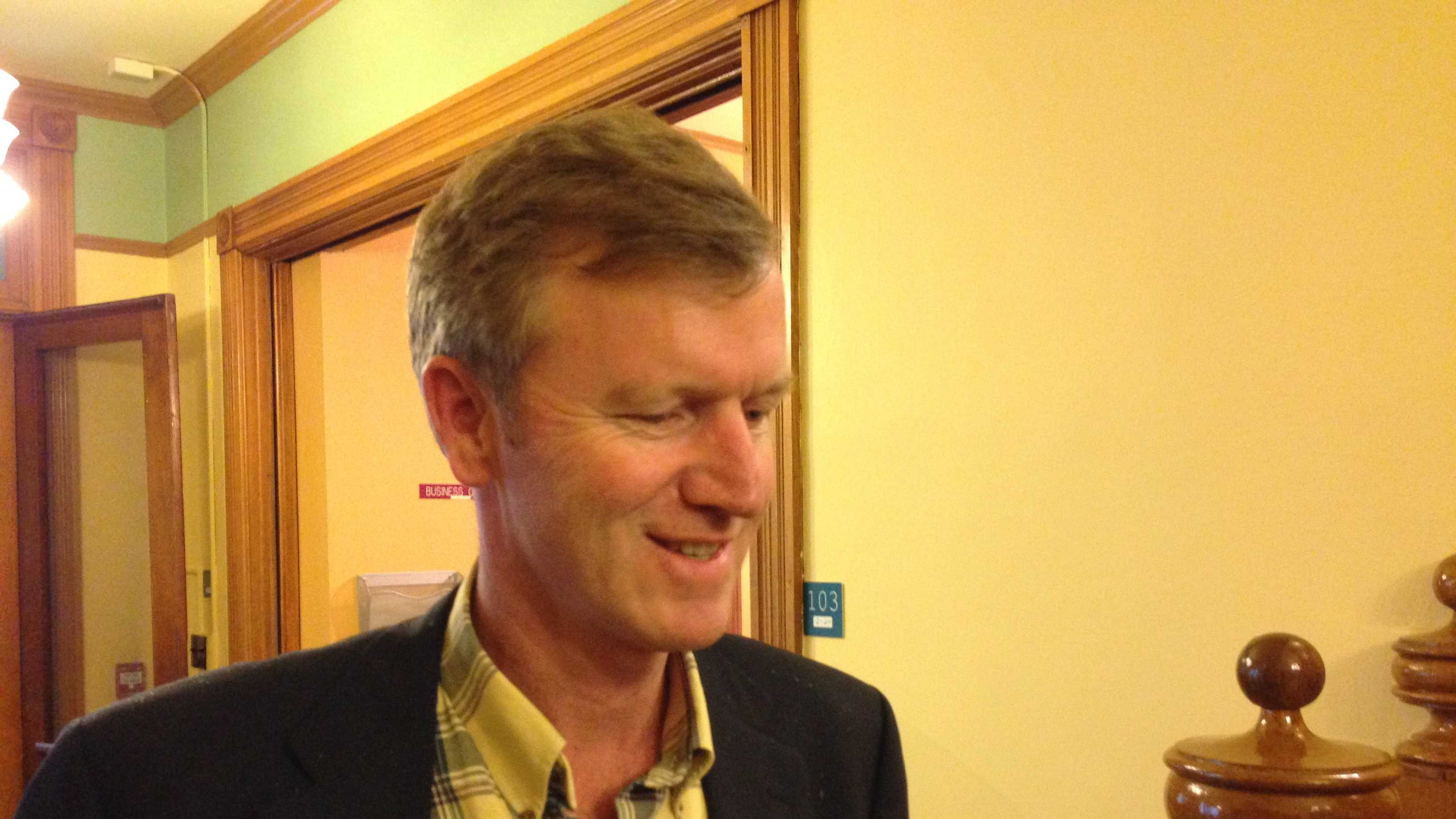 Scott Milne on June 12th when he officially filed the documents to run for governor