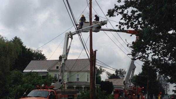 GMP crews restoring power to Poultney