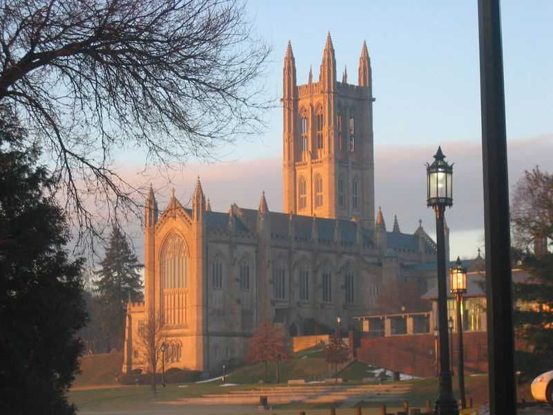 #3 Trinity College (Connecticut). Tuition and fees totaled $45,730 for the 2012-13 school year, according the the U.S. Department of Education.