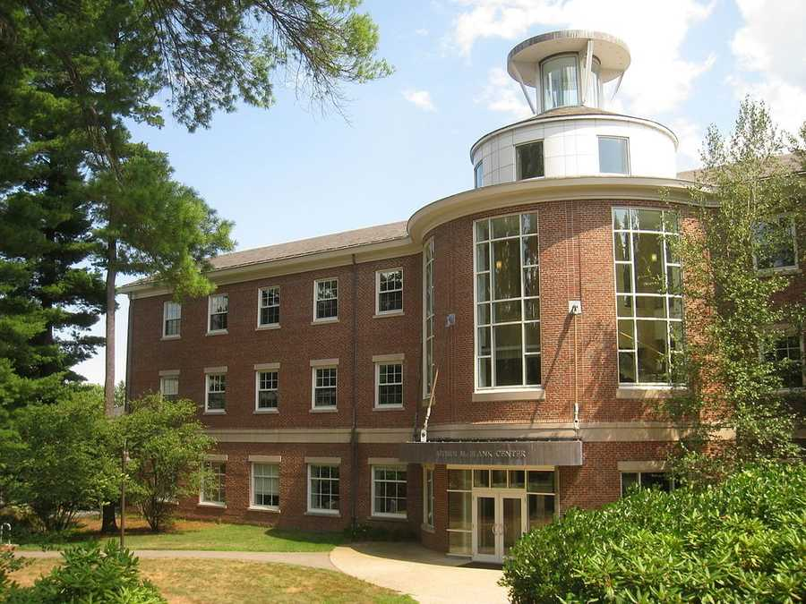 #27 Babson College (Massachusetts). Tuition and fees totaled $41,888 for the 2012-13 school year, according the the U.S. Department of Education.