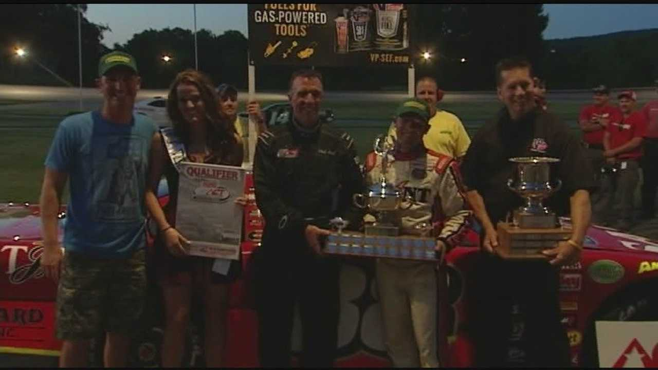 NASCAR's Clint Bowyer makes his second appearance at the annual Governor's Cup&#x3B; Nick Sweet led all 150 laps to earn checkered flag