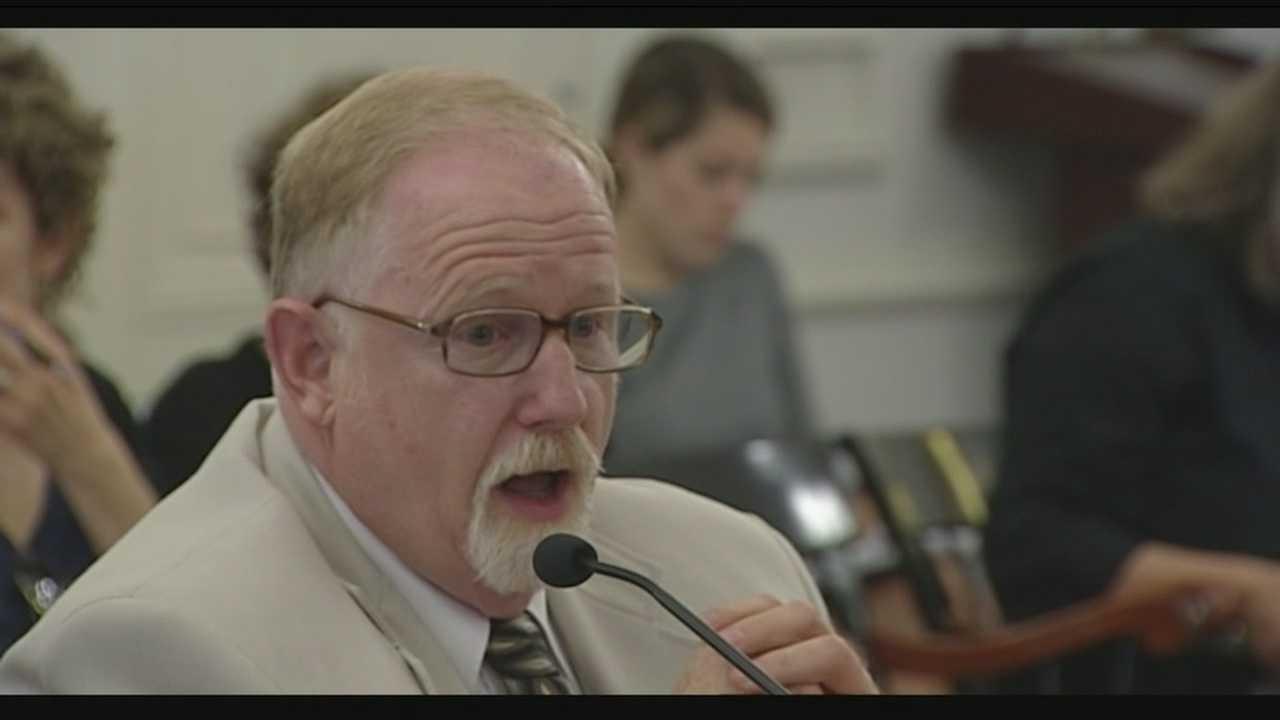 Commissioner testifies