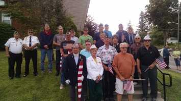 American Legion Post 219 & Amvets members