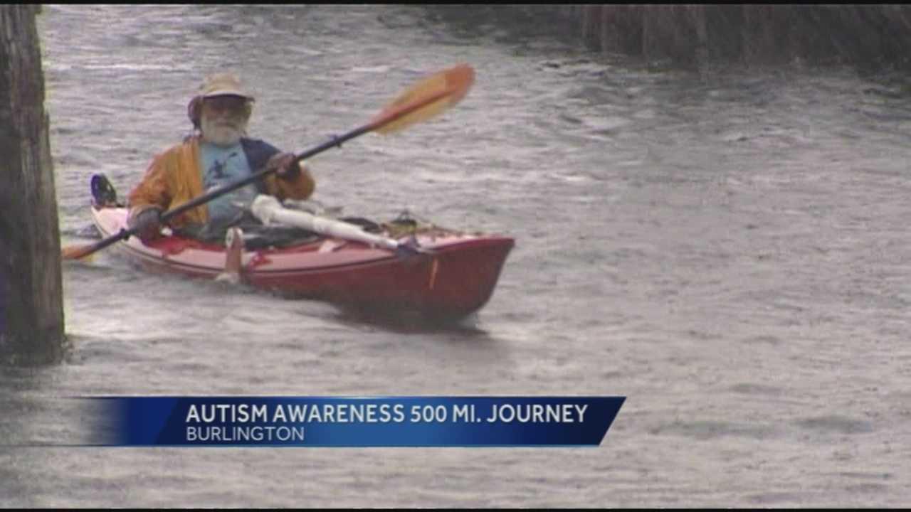 img-Man paddles 500 miles to raise awareness