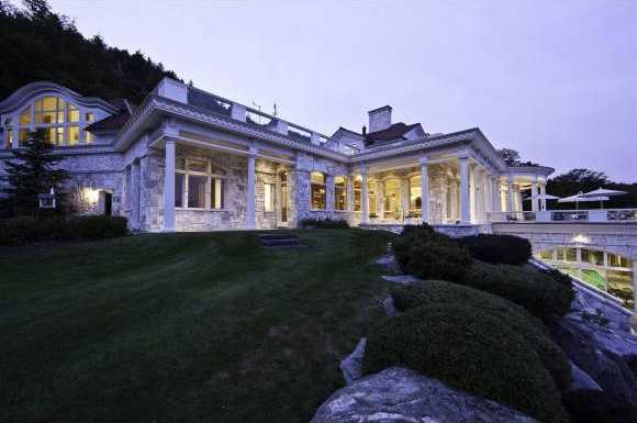 The 15.15 acre estate also features an on-demand snow-melt system.