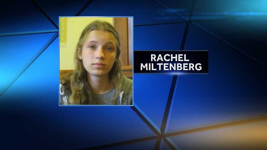 Rachel Miltenberg, 16, was spotted in Boston, but was able to leave he area before police could apprehend her.