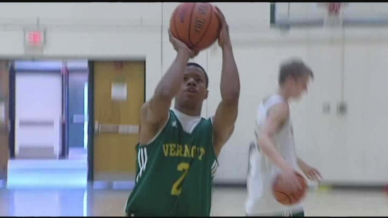 UVM's Tre Bell-Haynes plays close to home, during Cats Canada trip