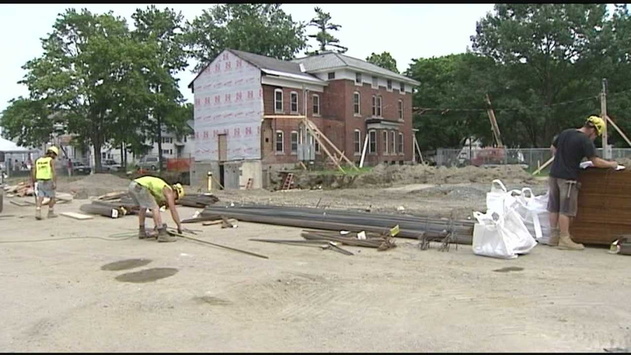 Ground broken for apartments in the wake of Irene
