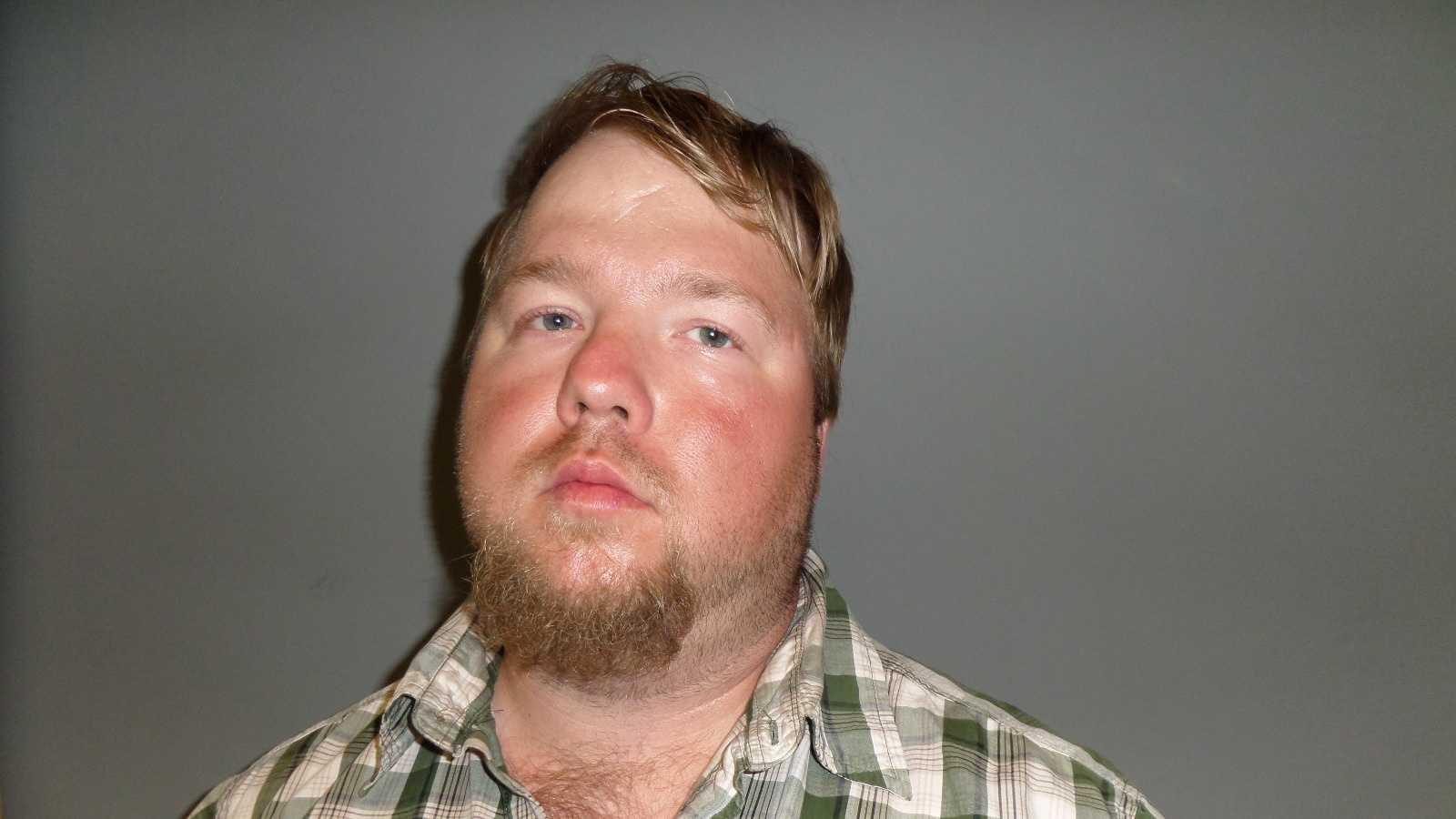 34-year-old Nathan Dunbar accused of growing 50 marijuana plants inside his residence in Duxbury, Vt.