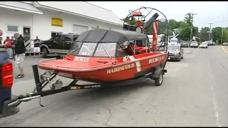 Authorities search bodies of waters.