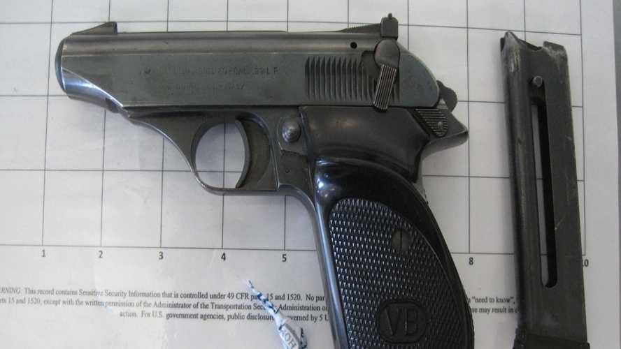 BTV Airport Gun Pic 8-19-14