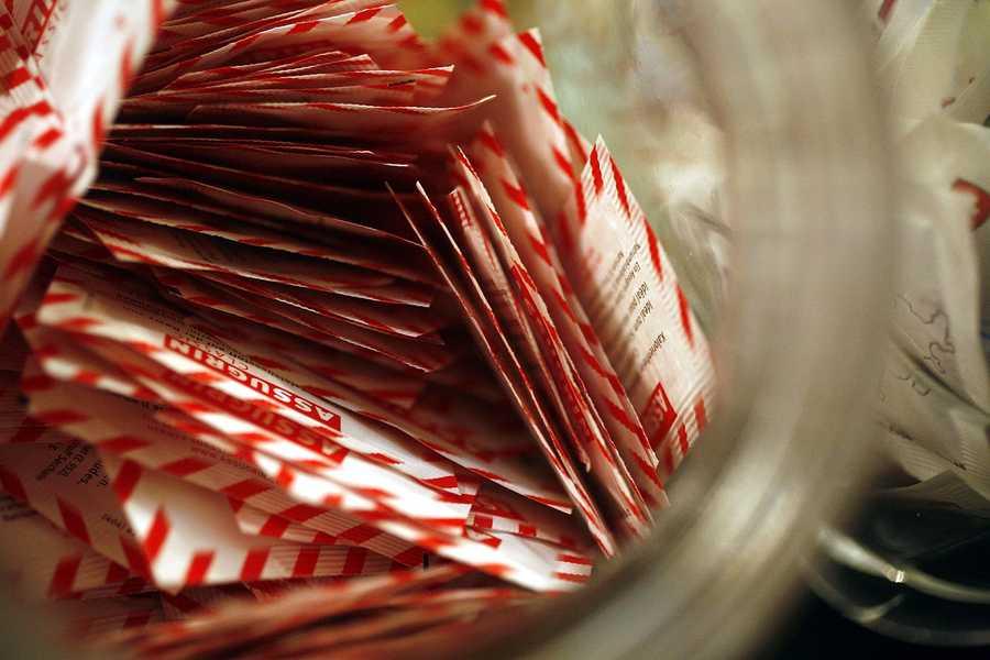 9.) Artificial sweeteners