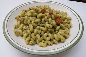 6.) White pasta