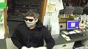 New York State Police are looking to identify this man in connection with the break-in at a pharmacy in Willsboro.