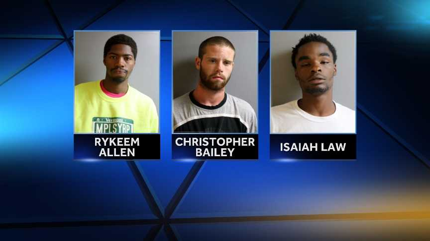 4 arrested in auto shop burglary