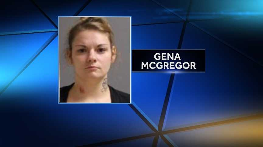 Gena McGregor was arrested and charged with criminal possession of a controlled substance (Suboxone) and criminal possession of a hypodermic instrument (needle.) New York State Police stopped McGregor on Interstate 87 in Lewis for a traffic infraction when the drugs and needle were discovered.