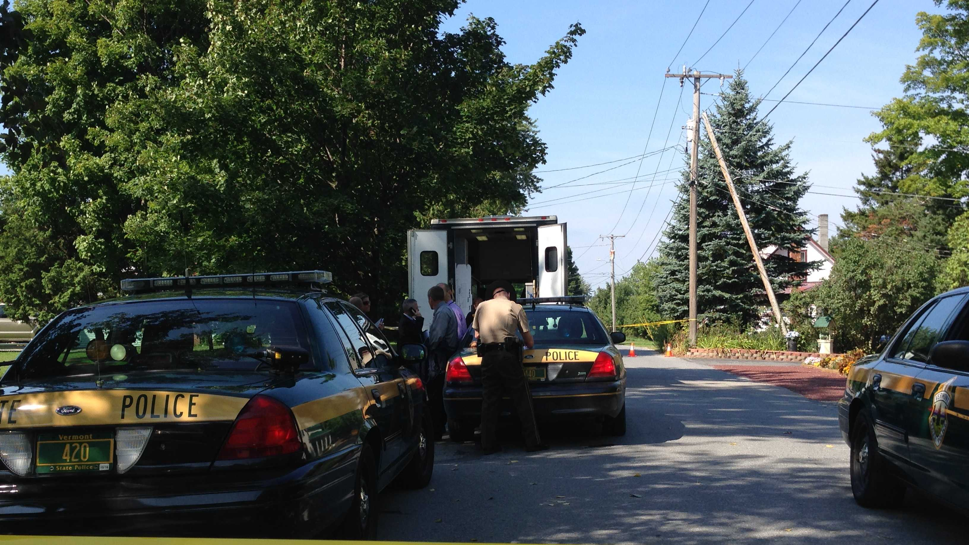 Police are investigating a shooting in Bristol, Vt. Police say they were called to a Pine Street home for a man experiencing a mental health crisis. When they arrived, police say they heard a gunshot and were approached by a woman holding a handgun. An officer shot and injured the woman after they say she ignored commands to drop the gun.