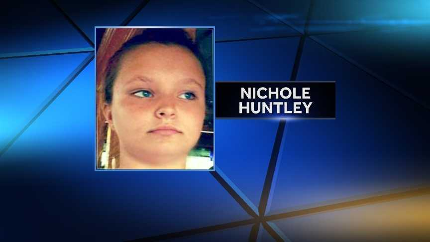 Nichole Huntley, 14, of Brookfield, Vt. was reported missing early Aug. 9, 2014. She returned home in the afternoon. Vermont State Police say the girl is safe and that she told them she needed a break.