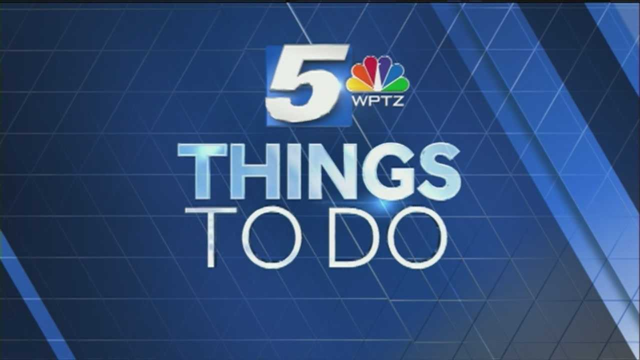 Want to participate in a clay shoot and chili cookoff for a good cause? That's just one of the cool events this weekend. Here's WPTZ's Tom Messner with some things to do today.
