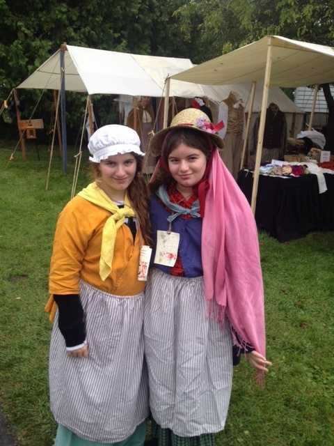 The Battle of Plattsburgh offers lots of fun activities for the kids.  Even learning how to dress in clothes from the 1800's.
