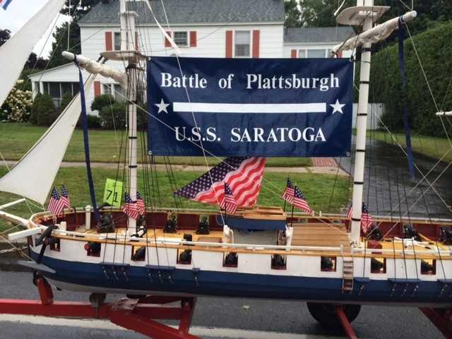 Awesome replica of the U.S.S. Saratoga.