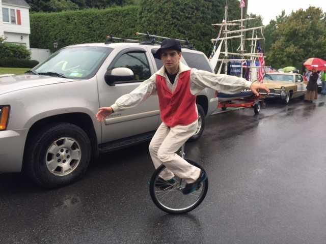 Unicycle! Way to go!